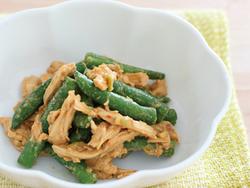 【きょうの健康レシピ】鶏肉とインゲンの中華ゴマソースあえ…免疫力アップで風邪予防