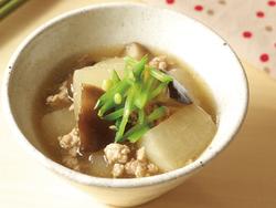 【きょうの健康レシピ】ダイコンとシイタケのヘルシー鶏そぼろ煮…免疫力をアップ