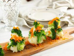 【きょうの健康レシピ】マッシュポテトとブロッコリーのツリーサラダ