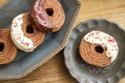 バレンタインにおすすめ!フライパンで簡単チョコバウムクーヘンの作り方
