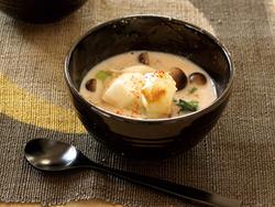 【きょうの健康レシピ】もち入り明太豆乳スープ…冷え性予防に