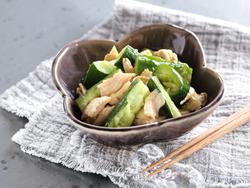【きょうの健康レシピ】キュウリとささみのワサビオイルドレッシング…蒸し暑い時期に食べやすい味付け
