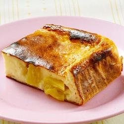 【週刊シル×旬のヘルシーレシピ】パイナップル入りチーズケーキ[180kcal以下]