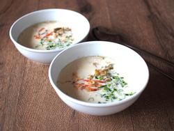 【きょうの健康レシピ】豆乳スープ…胃腸にやさしい
