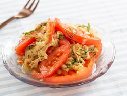 【きょうの健康レシピ】トマトとタマネギツナサラダ…たんぱく質や夏野菜たっぷり