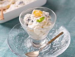 【きょうの健康レシピ】フルーツ濃厚アイス…泡立てた生クリームと混ぜるだけ