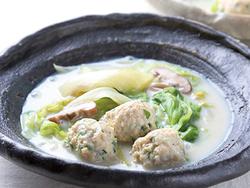 【きょうの健康レシピ】鶏団子とレタスの豆乳煮…夏を意識したダイエット(2)