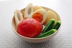 【今日の献立】野菜たっぷり♪夏野菜の冷やしおでん献立<503kcal>