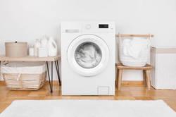 洗濯機まわりの収納術。デッドスペースを活用して効率よく収納しよう!