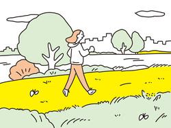 啓蟄(けいちつ)/散歩やハイキングで春をたっぷり感じて