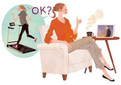「ちょこまか動く」ことで「座りすぎ」のリスクを減らす!|特集/美しい姿勢で美しく生きる!