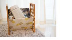 【100均DIY】一人暮らしにピッタリ!超簡単&おしゃれなマガジンラックの作り方