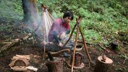キャンプ達人のアイドルが説く必須道具の選び方|ナイフ、飯盒、ハンモック、テントは何がいい?